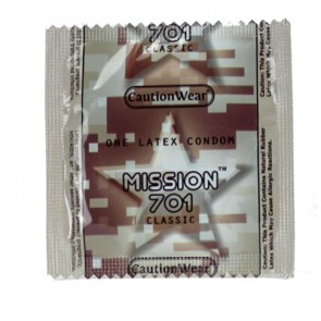 Caution Wear Mission 701 Condoms
