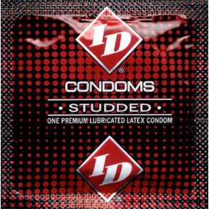 ID Studded Lubricated Condoms
