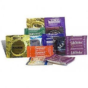 Large Condom Sampler - 13pk
