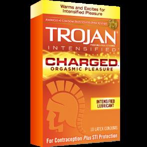 Trojan Charged Condoms