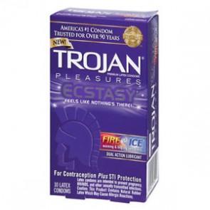 Trojan Pleasures Ecstasy Fire & Ice
